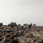 The Summit of Ben Nevis - The UK's Highest Mountain