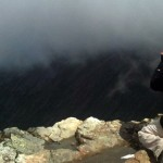 View from the summit of Ben Nevis